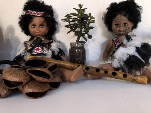 Maori dolls