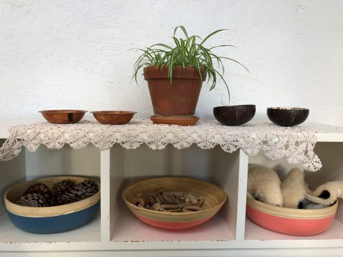 Natural materials for the Pipis