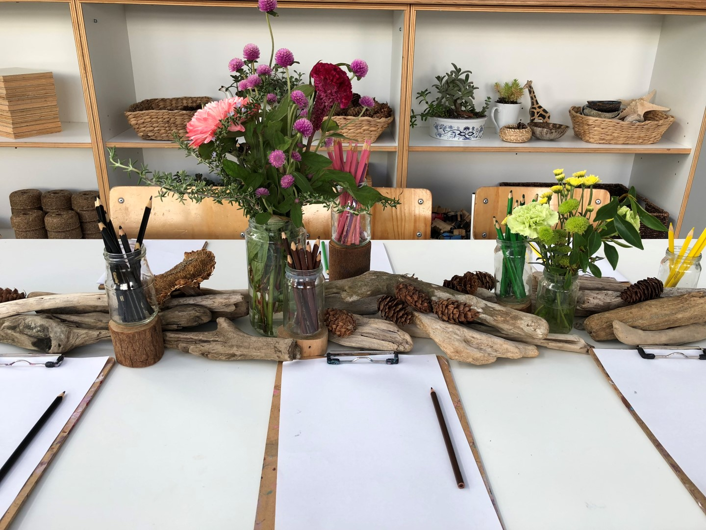 Paua drawing table